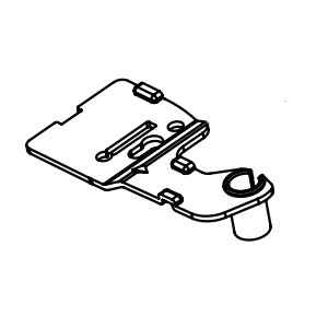 AEH73477201 Hinge Assembly,Upper Панта, Горна GSL361ICEZ