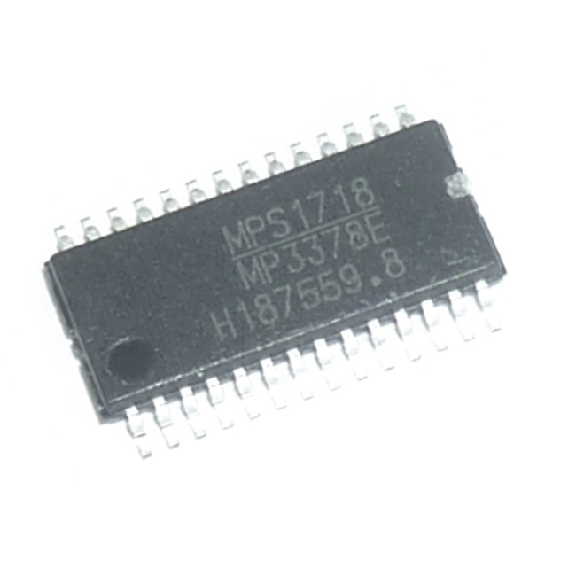 MP3378EGF IC ,  4-Channel WLED Controller MP3378EGF -0.3 ~ 28V 6.5 0W TSSOP T/REEL 28P 4 MSL2 4ch Driver + DC/DC = EAN64131801