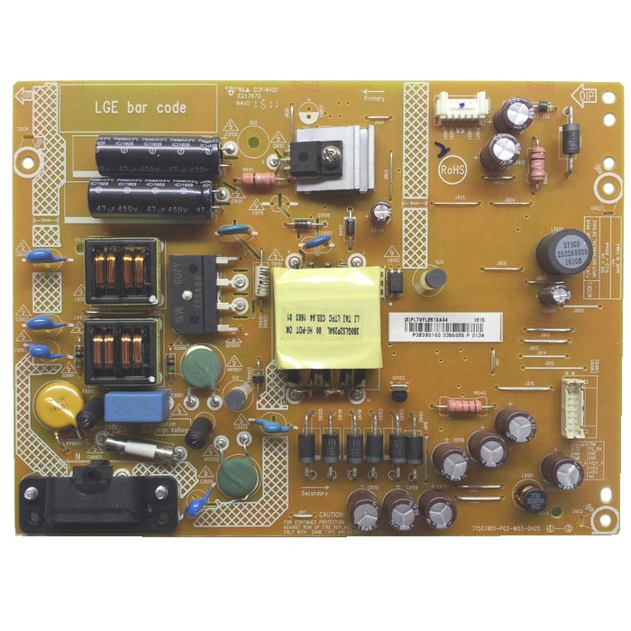 COV33940901 Power Supply Assembly TPV PLTVFL261XXS2 32LH500D-ZA 32LH501C Захранваща платка