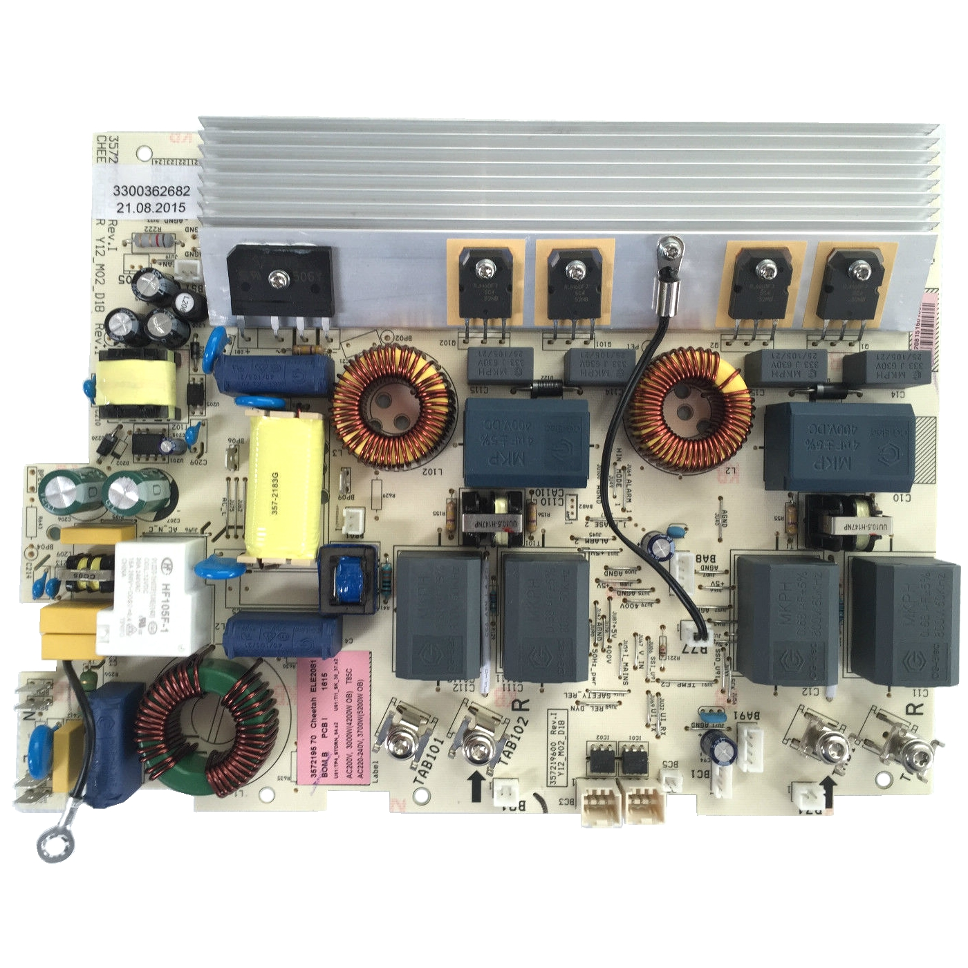 3300362682 POWER BOARD,INDUCTION,CONFIGUR
