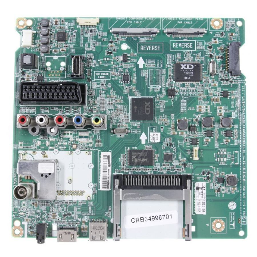 CRB34996701 BPR Total Assembly,Refurbished Board
