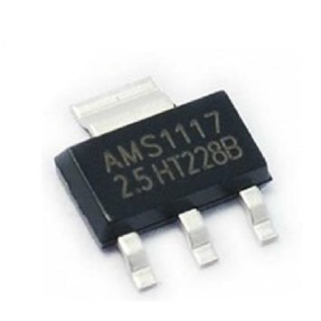 AMS1117-2.5V IC,DC/DC,SOT223,1A LOW DROPOUT VOLTAGE REGULATOR