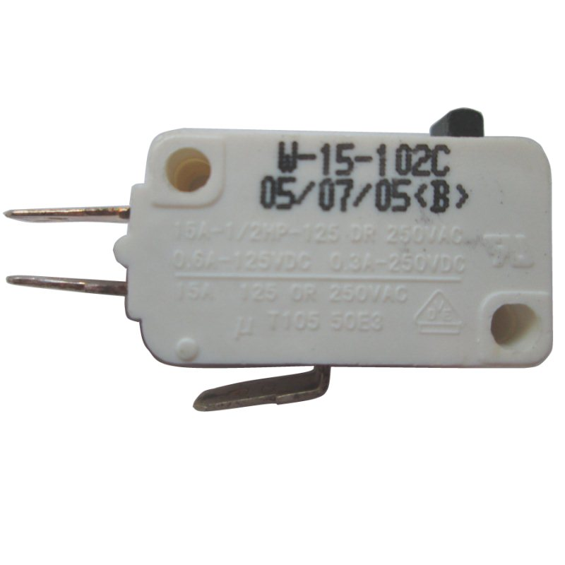 MICROSWITCH 3PIN MICROSWITCH-3P 15A/125VAC or 250VAC