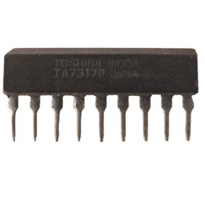 TA7317P IC, Protective Circuit for OCL Power Amp and Speaker