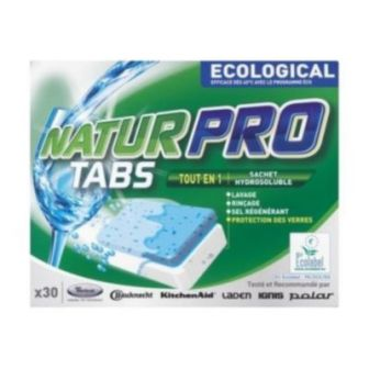 4840-000-00285 DISHWASHER ECOLABEL TABS- 30 tabs