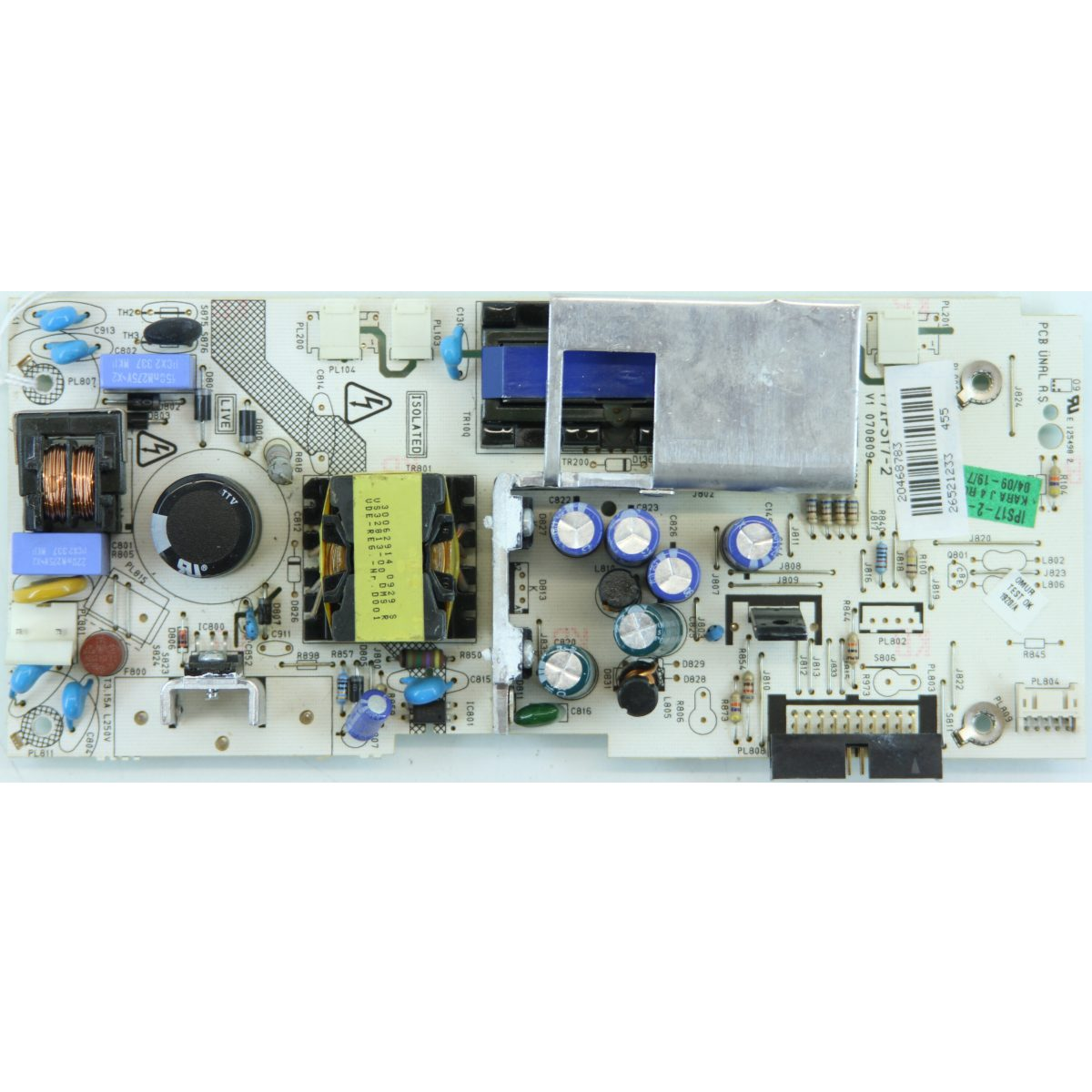 17IPS17-2 ASSY PCB IP BOARD, 17IPS17-2