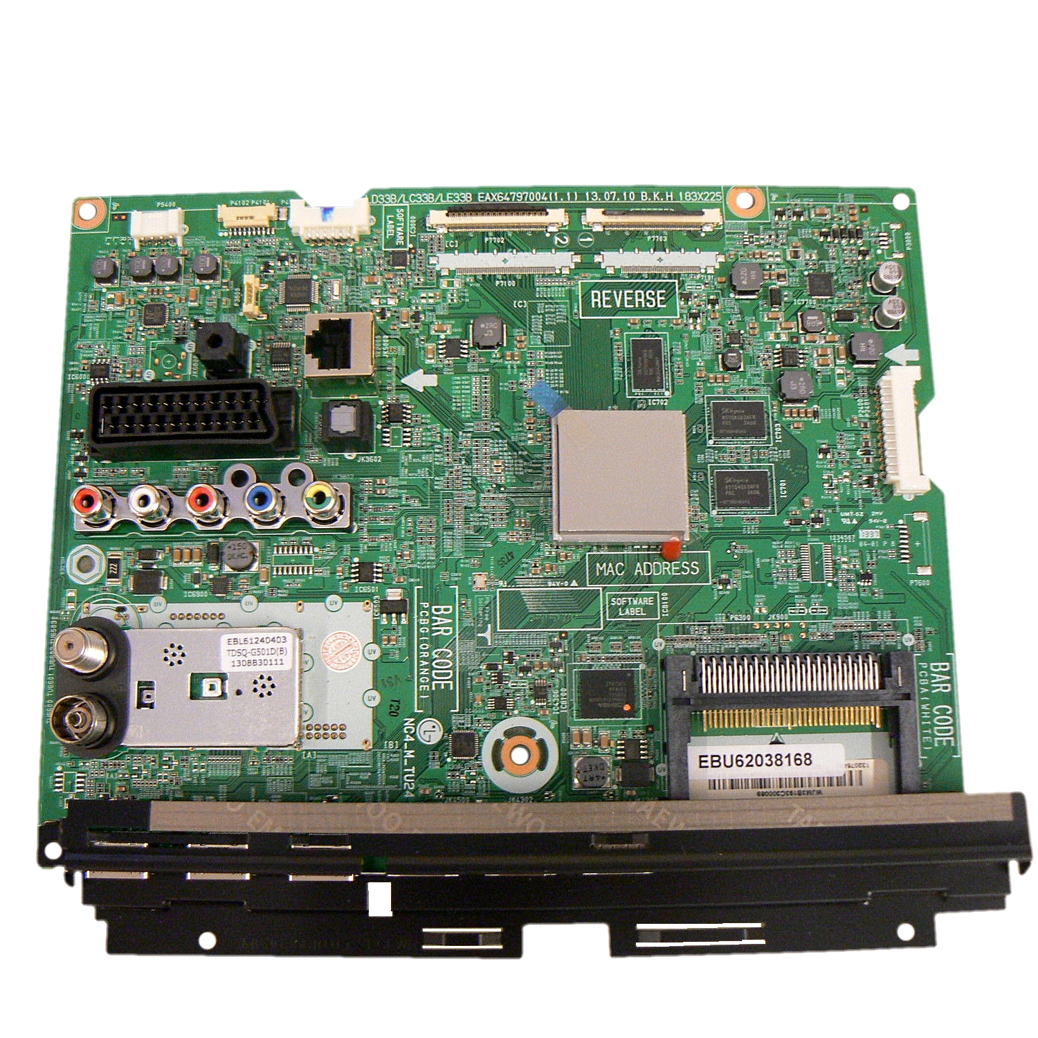 EBU62038168 Main Total  Assembly MAIN BOARD 42LA660S  42LA667S M120 BRAND LD33B MTK5398 LG