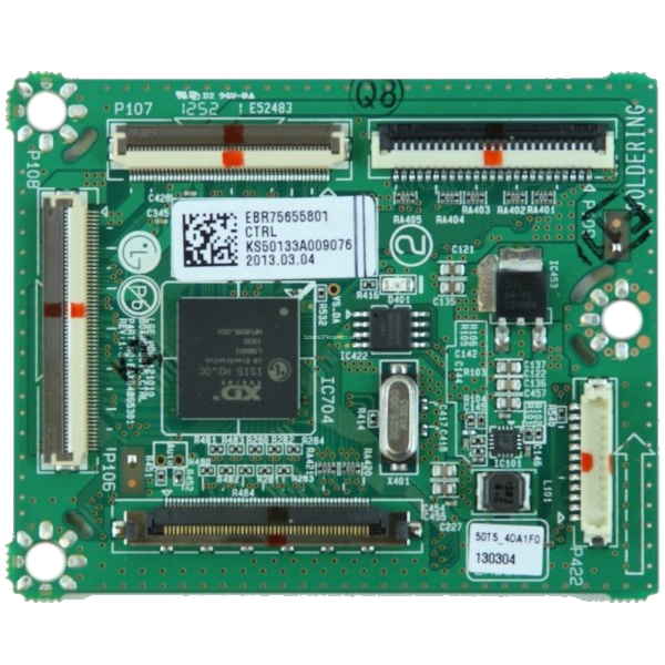 EBR75655801 Logic CTRL Board